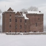 Huntingtower Castle, Winter.