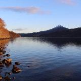 Winter sun, Loch Rannoch.