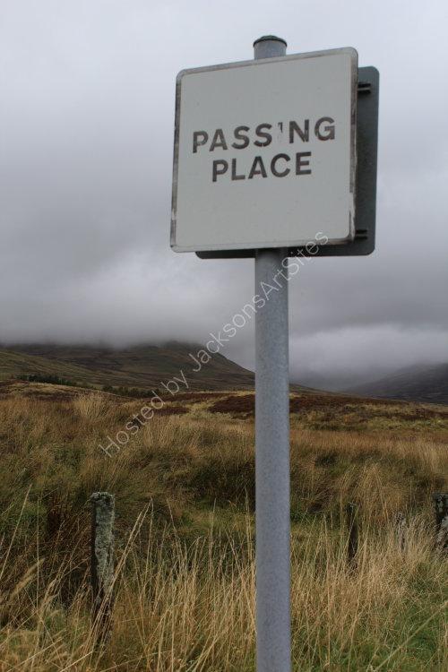 Passing Place, Glen Quaich
