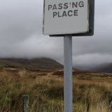 Passing Place, Glen Quaich