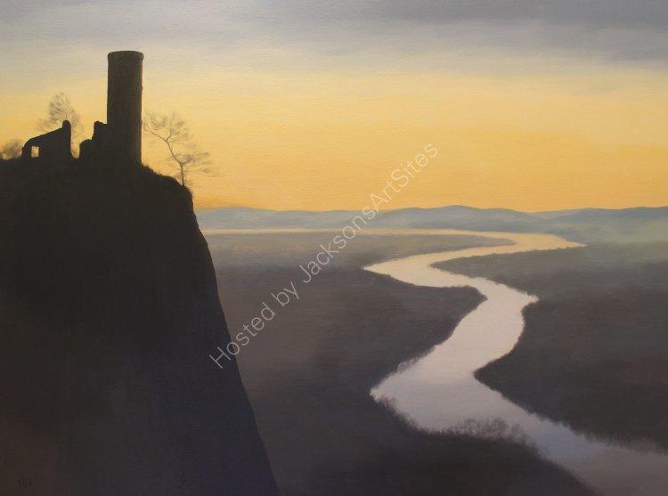 Kinnoull. Oil on canvas. 122cm x 91.5cm. SOLD
