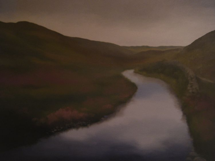 Little Glenshee. Oil on canvas. 117cm x 81.5cm. SOLD.