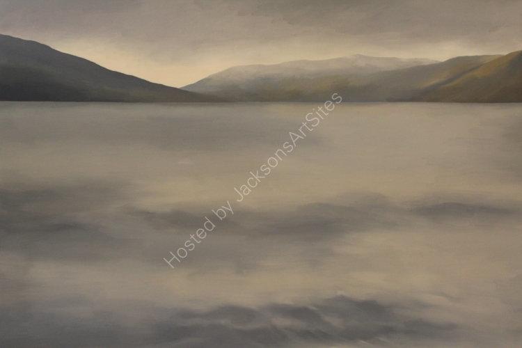 Loch Earn.  Oil on canvas.  122cm x 91.5cm.