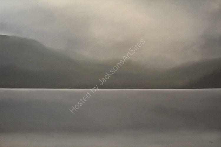 Loch Tay.  Oil on canvas.  122cm x 91.5cm.  SOLD