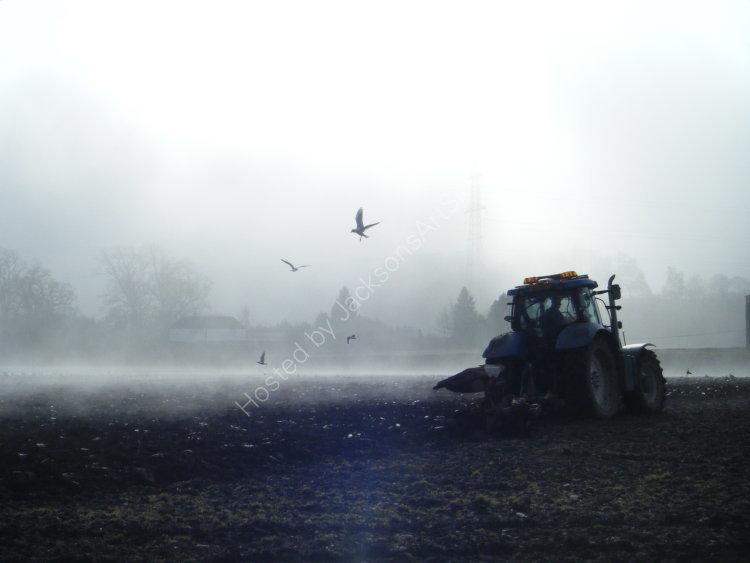 Ploughing, Huntingtowerfield.