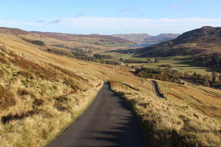 Road, Glen Quaich.