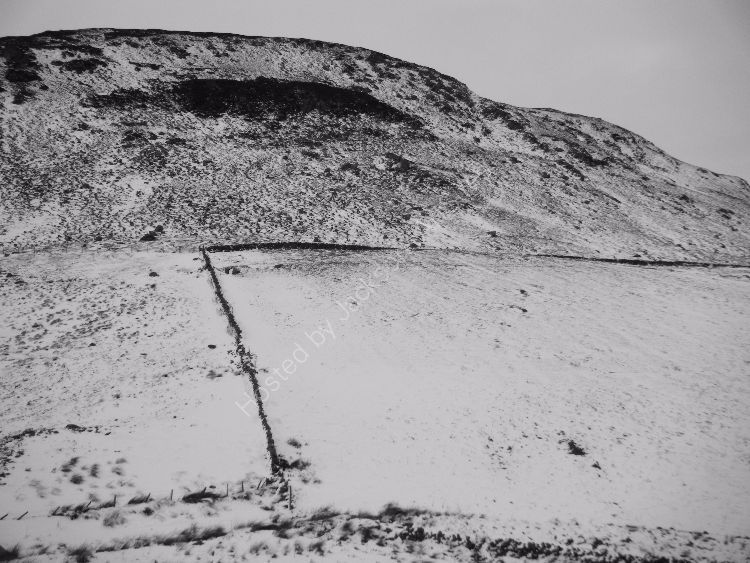 Snow lines I, Little Glenshee.