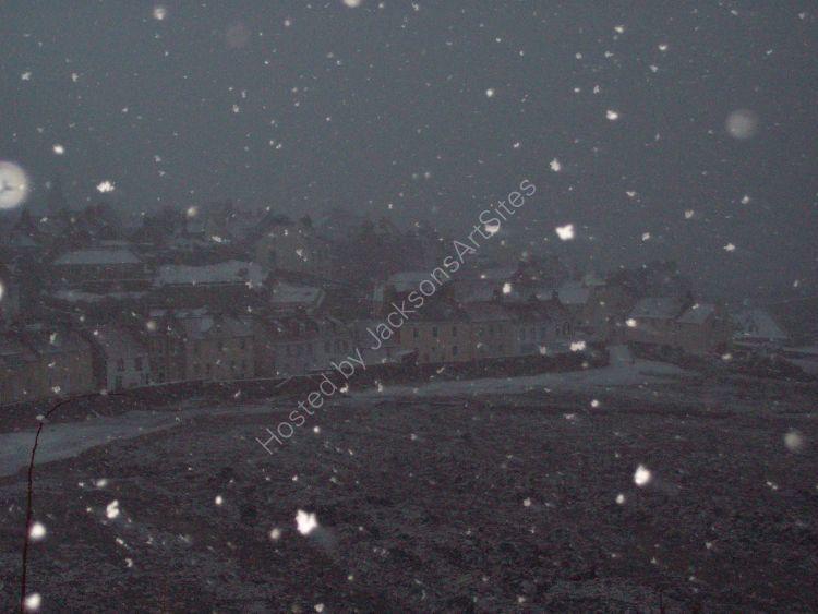 Snowstorm, Pittenweem.