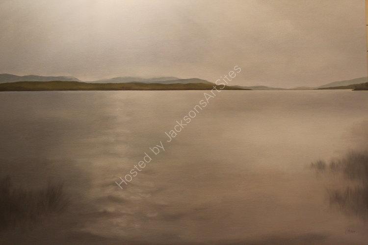 Sorcha.  Oil on canvas.  122cm x 91.5cm.  SOLD