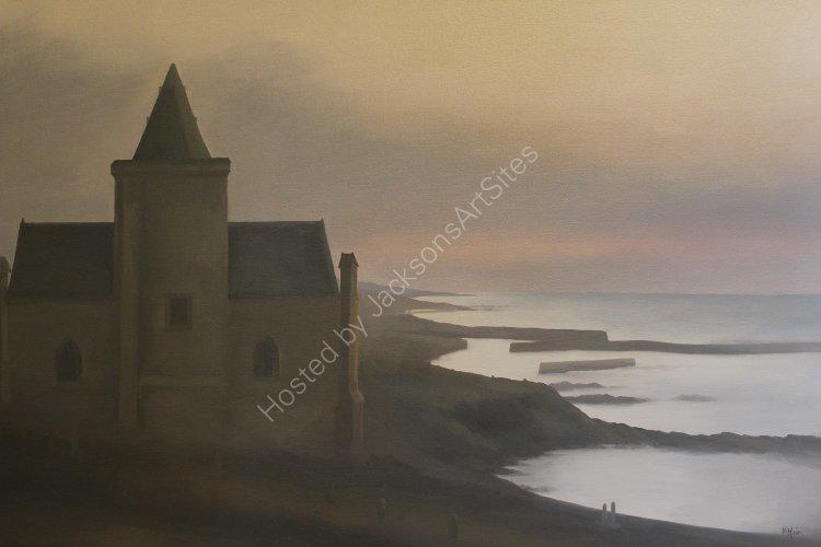 St Monans Kirk.  Oil on canvas.  80cm x 55cm.  SOLD