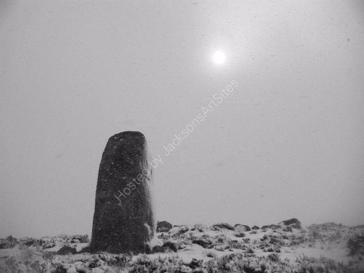 Standing stone, Moor of Ardoch.