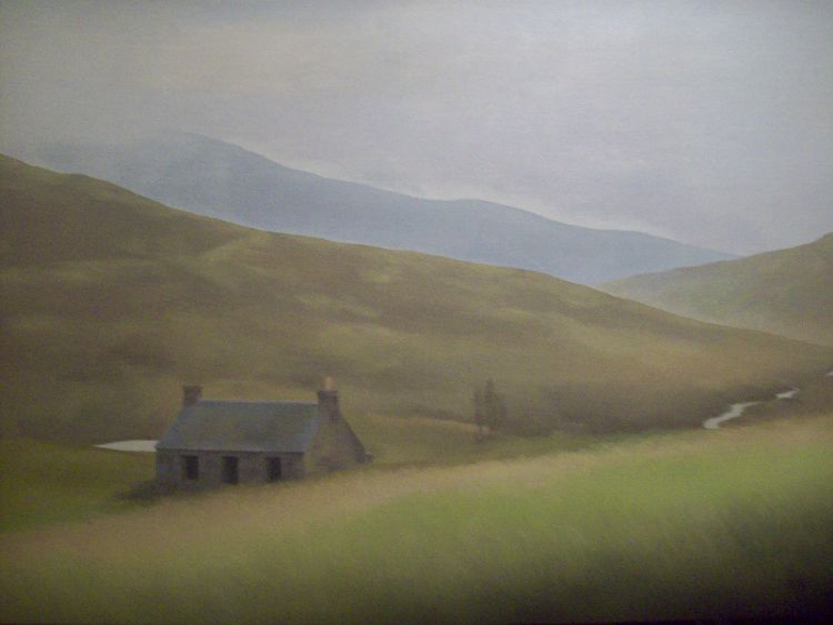 The Quiet Glen. Oil on canvas. 107cm x 81.5cm. SOLD