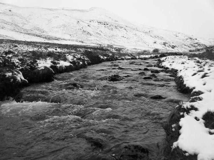 The Schochie, Little Glenshee, Winter.