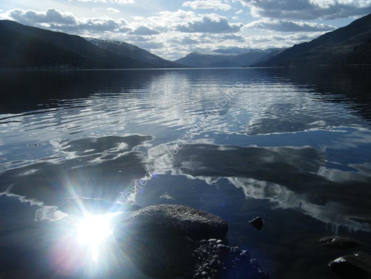 Easter Day, Loch Earn.