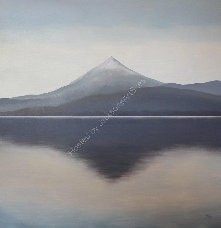 Schiehallion. Oil on canvas. 91.5cm x 91.5cm. SOLD