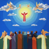 12. Jesus Ascends into Heaven
