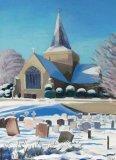 Sunlit Snow St Andrews 38