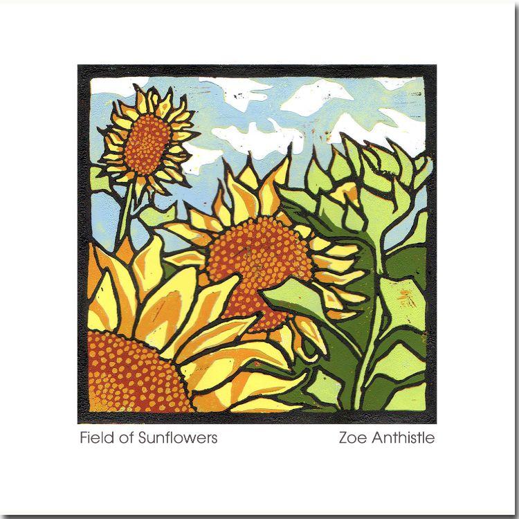 'Field of Sunflowers'