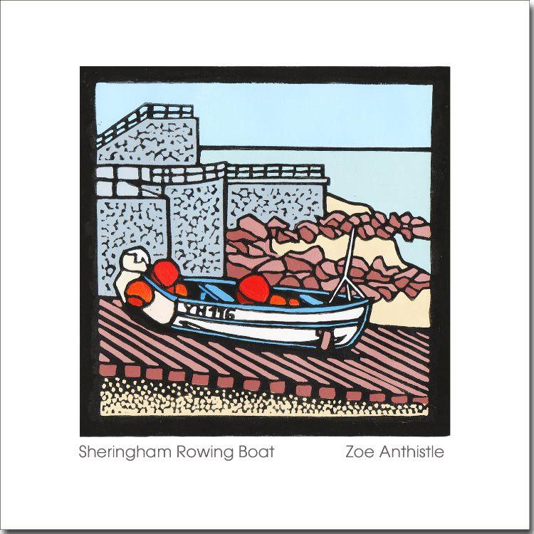 'Sheringham Rowing Boat'