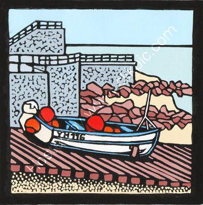 Sheringham rowing boat